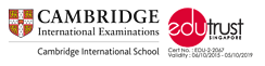 IGCSE and EduTrust logo